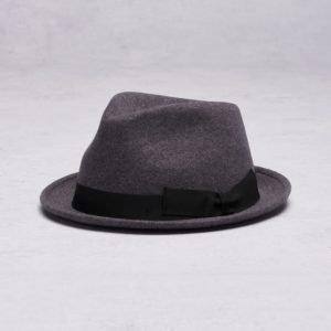 Wigéns Trilby Classic Hat 096 Dark Grey