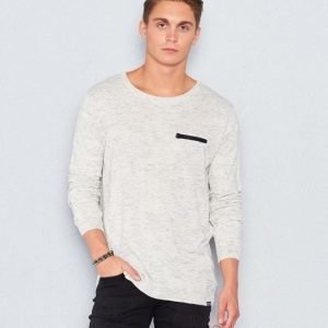 William Baxter Billy Knitted Sweater Grey Melange