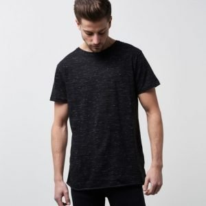 William Baxter Bob Marble Tee Black Melange