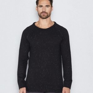William Baxter Colin Knitted Sweater Black