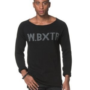 William Baxter Crispin Knitted Sweater Black
