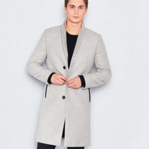 William Baxter Dean Coat Light Grey