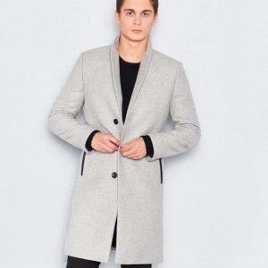 William Baxter Dean Coat Light Grey