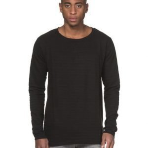 William Baxter Fred Long Sleeve Tee Black