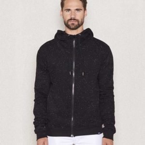 William Baxter Gibson Zip Sweater Black
