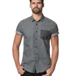 William Baxter James Shortsleeve Shirt Grey