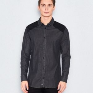William Baxter Patrick Denim Shirt Black