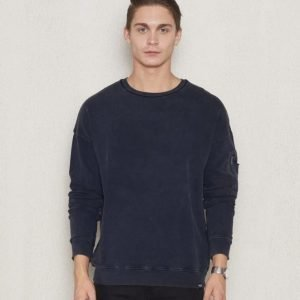 William Baxter Pete Sweater Dark Navy