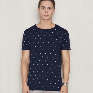 William Baxter Rick Flash Tee Dark Navy