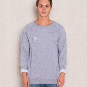 William Baxter Robbie Sweater Grey Melange