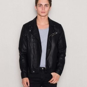 William Baxter Tarquin PU Jacket Black