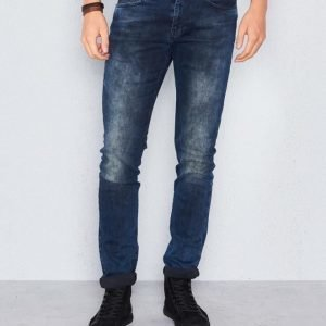 William Baxter Ted Slim Fit Dark Trash Blue