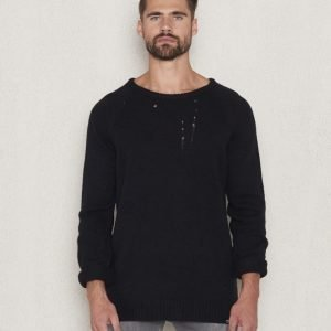 William Baxter Teddy Knitted Sweater Black