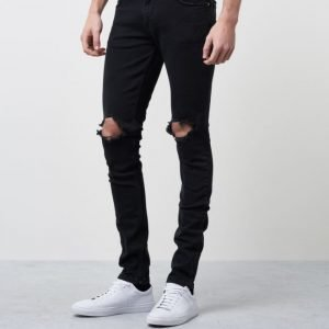 William Baxter Tim Superslim Ripped Black