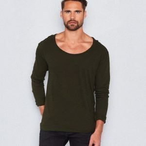 William Baxter William LS Tee Dark Green