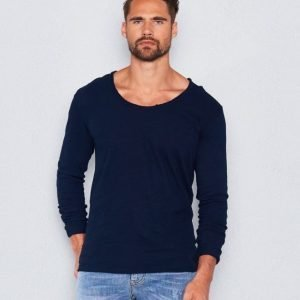 William Baxter William LS Tee Dark Navy