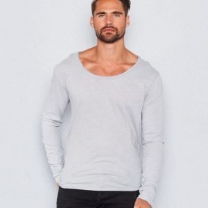 William Baxter William Long Sleeve Tee Light Grey