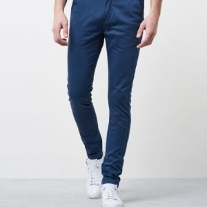William Baxter Zack Slim Chino Steel Blue