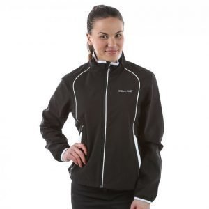 Wilson Staff Ladies Performance Rain Jacket Sadetakki Musta