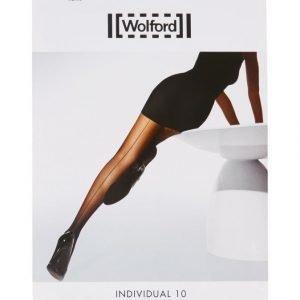 Wolford Individual 10 Den Back Seam Sukkahousut