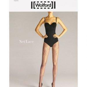 Wolford Net Lace Verkkosukkahousut