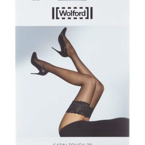 Wolford Satin Touch 20 Den Stay Up Sukat