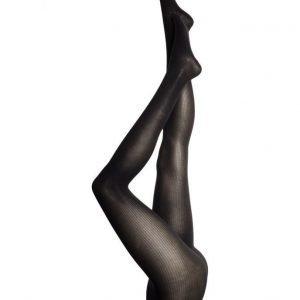 Wolford Superfine Cotton Rib Tights sukkahousut