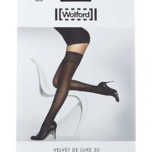 Wolford Velvet De Luxe 50 Den Stay Up Sukat
