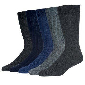 Wolsey Cotton Rib Socks 5 pakkaus