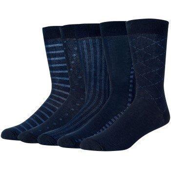 Wolsey Pattern Cotton Socks 5 pakkaus