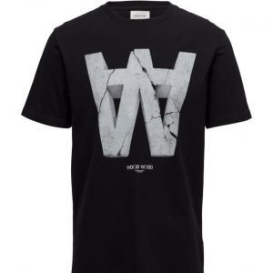 Wood Wood Aa Crack T-Shirt lyhythihainen t-paita