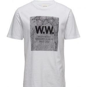 Wood Wood Concrete Square T-Shirt lyhythihainen t-paita