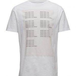 Wood Wood Human T-Shirt lyhythihainen t-paita