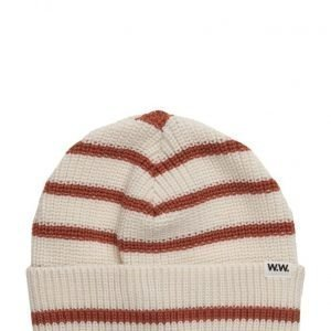Wood Wood Lawrence Striped Beanie