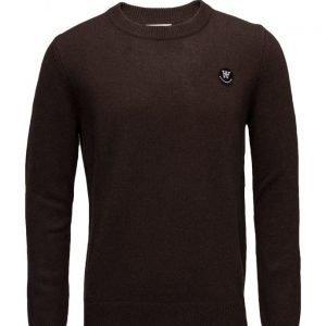 Wood Wood Yale Sweater pyöreäaukkoinen neule