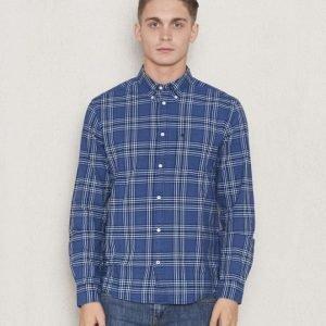 Wrangler 1 Pocket Button- Down Shirt Dark Indigo