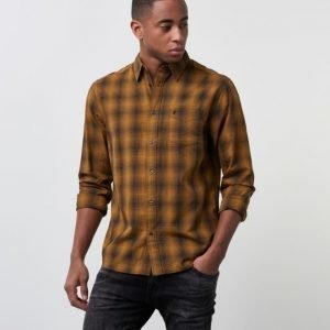 Wrangler 1 Pocket Flap Shirt Inca Gold