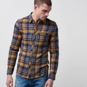 Wrangler 1 Pocket Shirt Inca Gold