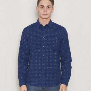 Wrangler 1 Pocket Shirt New Indigo