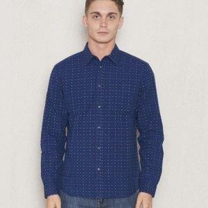 Wrangler 1 Pocket Shirt New Indigo
