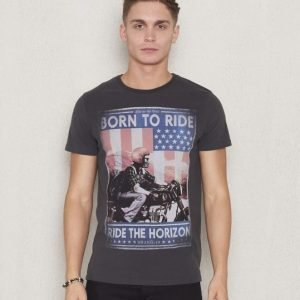 Wrangler Born To Ride Tee Phantom