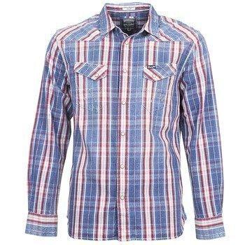 Wrangler LS ORIGINALS SHIRT RED pitkähihainen paitapusero