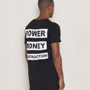 Wreckless Power Tee Black