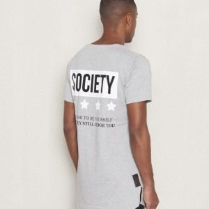 Wreckless Society Tee Grey