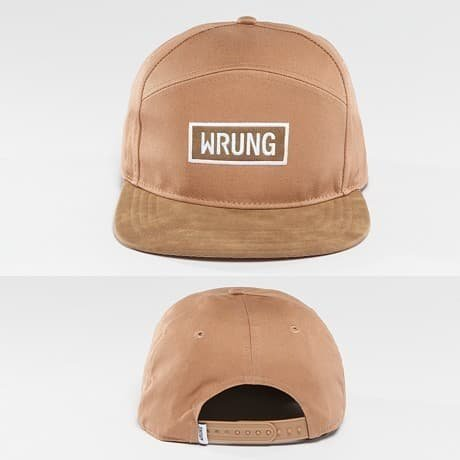 Wrung Division Snapback Lippis Beige