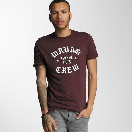 Wrung Division T-paita Punainen