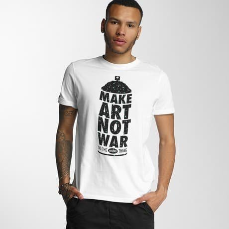 Wrung Division T-paita Valkoinen