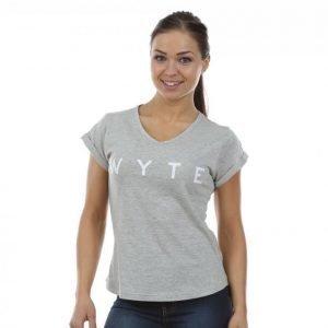 Wyte Los Angeles T-paita Harmaa