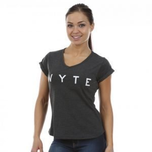 Wyte Los Angeles T-paita Musta