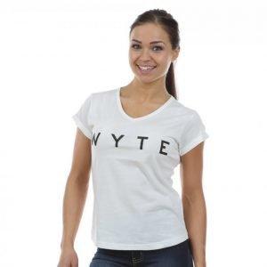 Wyte Los Angeles T-paita Valkoinen